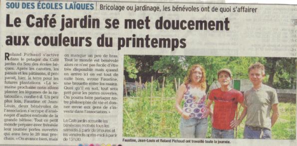 Article paru dans La Provence le 08 Mai 2016